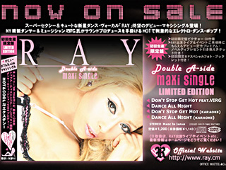RAY 1st.CD Flyer